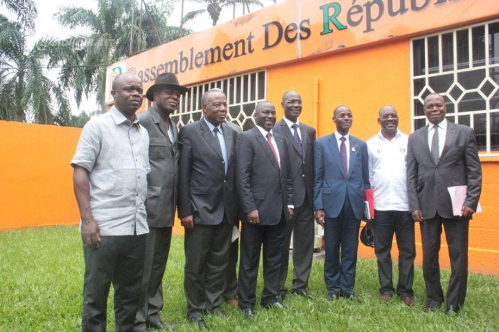 Côte d'Ivoire : Bictogo à la rencontre des rois et les chefs traditionnels pour la réélection de Ouattara