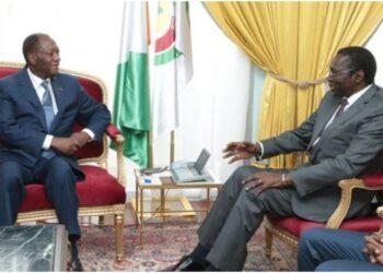 Le Président Alassane OUATTARA, s'est entretenu, ce mardi 05 Août 2014, au Palais de la Présidence de la République, avec M. Abdoulaye Mar DIEYE, Directeur du Bureau Afrique du PNUD.