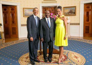 Sommet USA-Afrique à Washington, Le Premier ministre Duncan à la Maison Blanche
