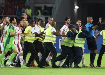 Les équipes de la RD Congo et de la Guinée Equatoriale ont assuré leur qualification pour les demi-finales de la CAN en battant respectivement le Congo et la Tunisie au stade des quarts de finale joués ce samedi au stade de Bata.