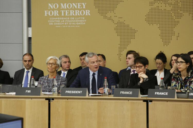 Ils étaient une vingtaine de Pays africains à prendre part à la conférence sur la lutte contre le financement du terrorisme le 26 avril à Paris avec les pays du G5 Sahel au complet.