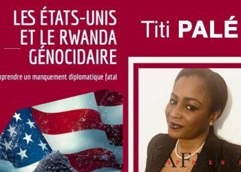 """1ère de couverture de """"Les États-Unis et le Rwanda génocidaire""""  Photo: Afrikipresse"""