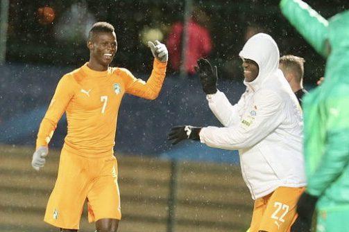 Football-CAN U23 : Soualiho Haidara, Beston Chambeshi et Kouadio Yves Dabila parlent après Côte d'Ivoire Zambie