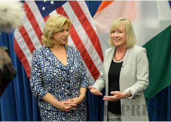 Visite de travail de Mme Dominique Ouattara au Département du travail américain à Washington en septembre 2019