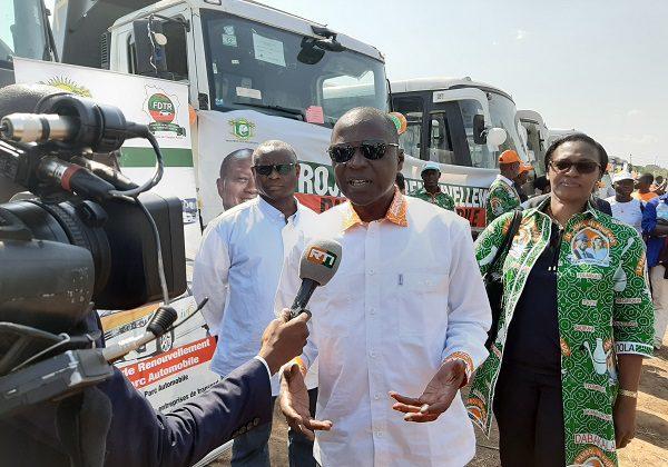Ouattara dans le Hambol : le ministère des Transports frappe un grand coup (Côte d'Ivoire)