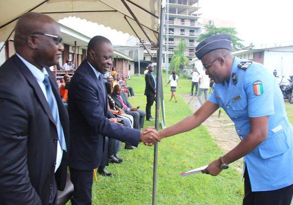 Côte d'Ivoire : La police spéciale de sécurité routière félicitée par Amadou Koné