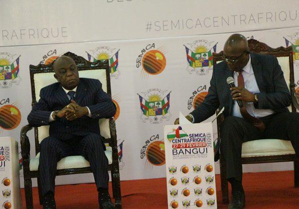 Centrafrique: Tout est prioritaire car tout est à reconstruire (le ministre Félix Moloua, économie, plan et coopération)