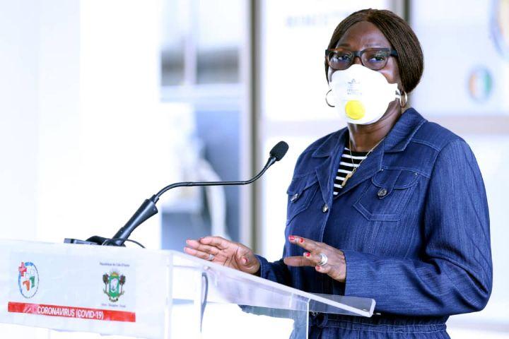 Coronavirus : la ministre Kandia Camara reconnaissante à la RTI et aux partenaires sociaux pour leur contribution