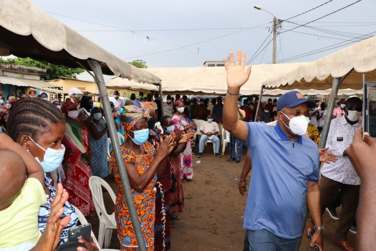 Siandou Fofana à Port-Bouet, Adjouffou le 7 juin 2020. Photo : DR
