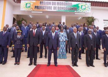 Visite d'Etat dans le Moronou : Face aux menaces du PDCI, le RHDP joue la carte de l'apaisement (Côte d'Ivoire)