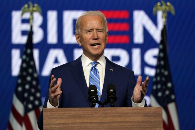Présidentielle américaine: Joe Biden aux portes de la Maison Blanche