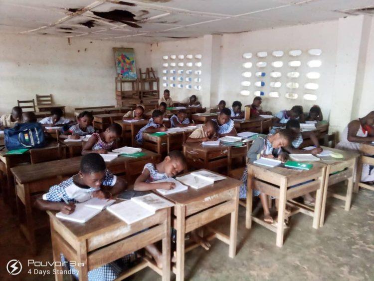 Cavally-Reprise des classes: les établissements affichent complet à Guiglo (Côte d'Ivoire)