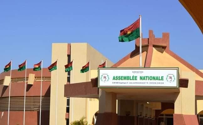 Siège du parlement burkinabè Photo: DR
