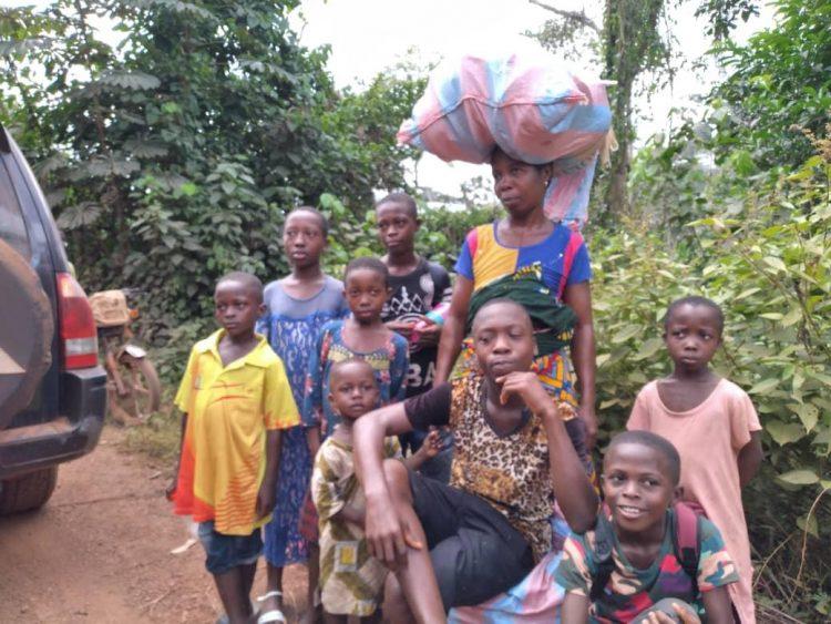 Psychose préélectorale en Côte d'Ivoire : Je suis très heureuse de retrouver mon pays après trois semaines au Libéria (Mme Tahakoua Odile, déplacée, Toulepleu, Libéria)