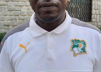 Dao Lancina, selectionneur des Eléplants U17. Photo: Adou Mel/AfrikiPresse
