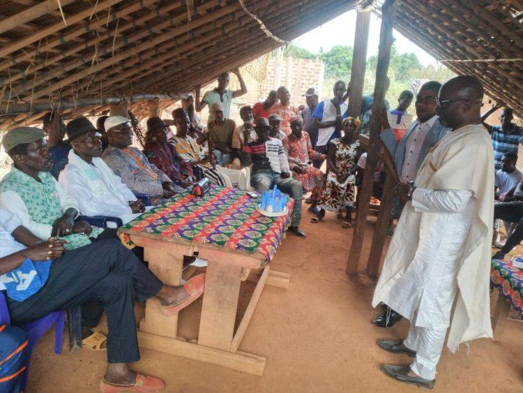 Législatives 2021-Bangolo : le grand Zibiao choisit Houla Tidiane et Goulaourou Audris Charnel (Côte d'ivoire)