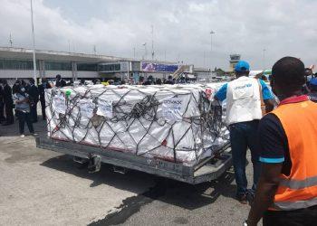 Les doses du vaccin Covid-19 de Covax destinées à la Côte d'Ivoire ont été réceptionnées par les autorités ivoiriennes le 26 février.