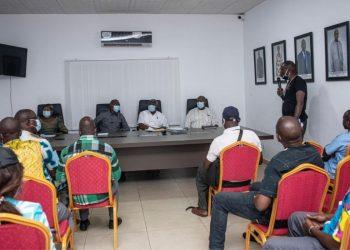 Visuels de campagne: Amadou KONE met à contribution les artisans de Bouaké