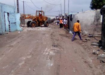 Exclusif-Côte d'Ivoire: des Bulldozers à Adjoufou, les habitants racontent