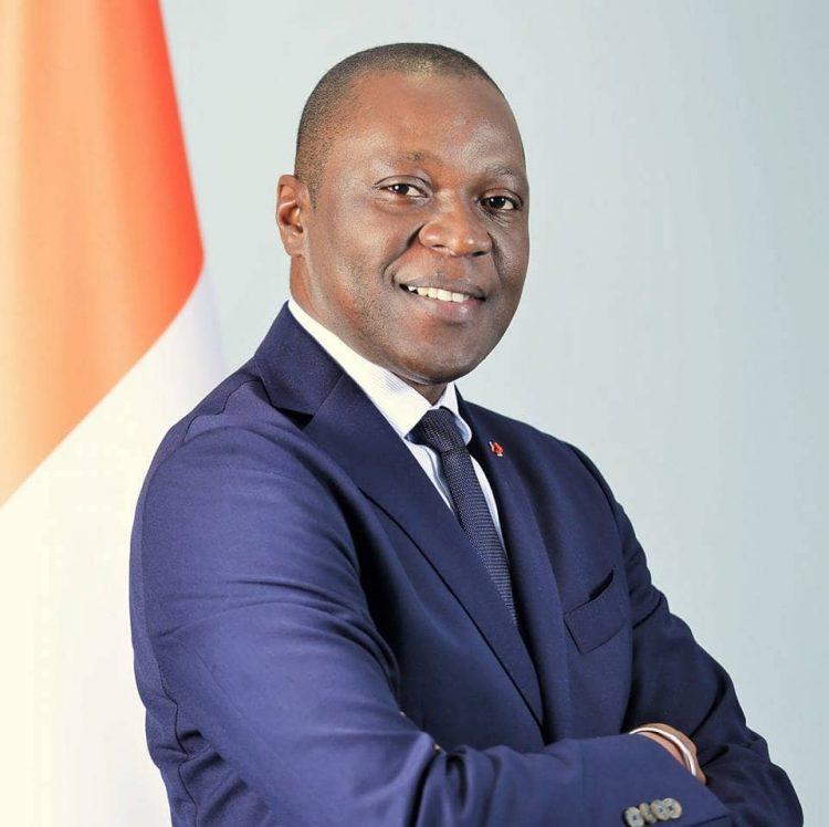 Amadou Koné, candidat Rhdp à Bouaké. Photo: DR