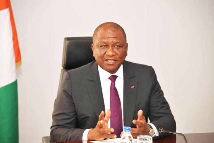 Hamad Bakayoko, Premier ministre de Côte d'Ivoire.