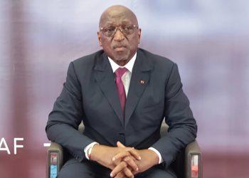 Jacques Anouma, candidat à la présidence de la fédération africaine de football