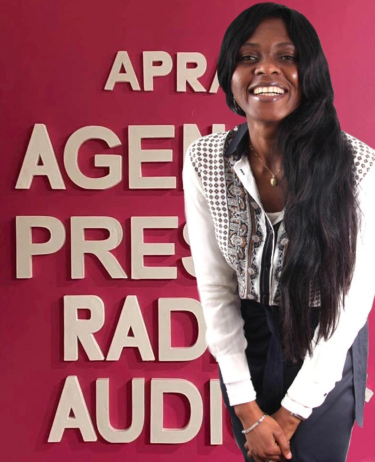 Fatim Camara, promoteur de l'agence De presse radio africaine (APRA)