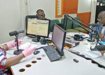 une émission de radio Ouest FM