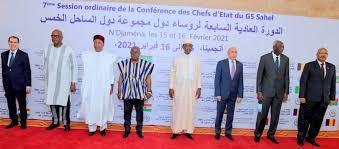 G5 Sahel à sommet de N'Djamena.