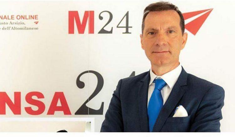 le consul ivoirien en Italie, Fabrizio Iseni