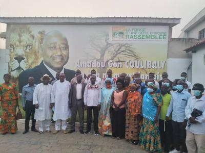 Bouaké : Le Raci et le Rhdp préparent un coup (Côte d'Ivoire,  législatives 2021)