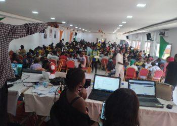 Selon les chiffres en notre possession le taux de participation à 12h dans la circonscription 060( Bouaké ville) oscille entre 10 et 40%.