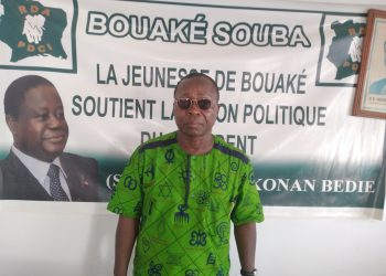 Afrikipresse a rencontré Nda Kouakou Theodore, le directeur de campagne du candidat Nguessan Kouame Lambert tête de liste PDCI-EDS de Bouaké.