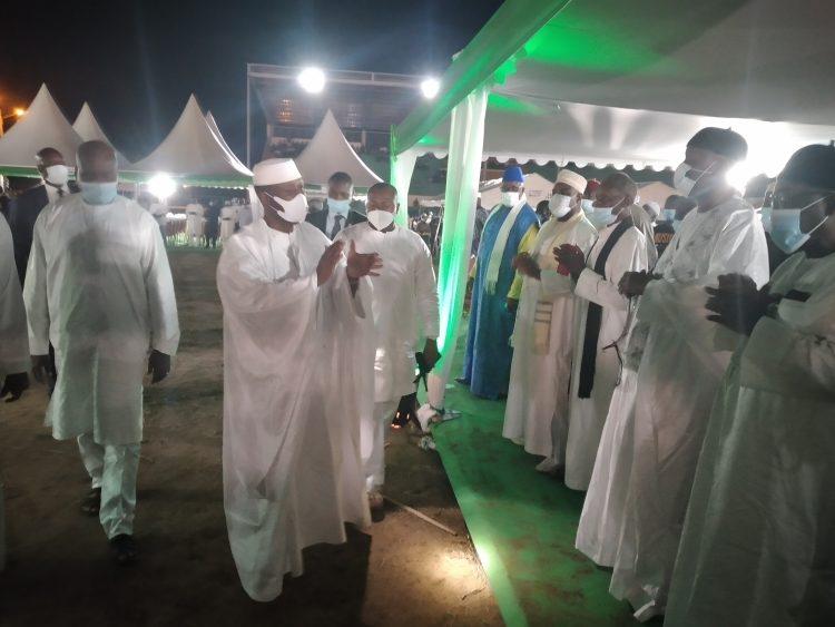 300 imams ont prié pour le repos de l'âme d'Hamed Bakayoko (Séguéla, Côte d'Ivoire)