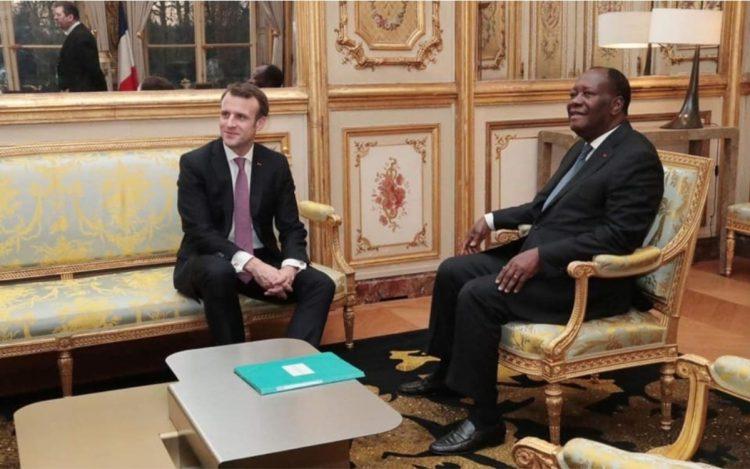 Le président ivoirien Alassane Ouattara a dîné hier mercredi 3 mars 2021 à l'Élysée à l'invitation de son homologue français, Emmanuel Macron.