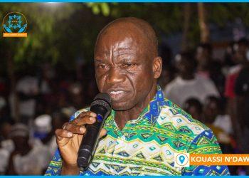 Kouassi Thomson a été fait roi pour sortir Bondoukou du sous-développement. Une responsabilité que ce dernier a d'ailleurs accepté.