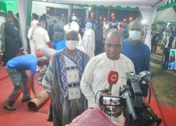 Alpha Barry conduit une délégation burkinabè à Séguéla pour les obsèques de Hamed Bakayoko