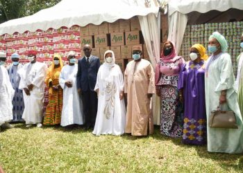 Côte d'Ivoire-Ramadan : Mme Dominique Ouattara fait des dons d'une valeur de 130 millions de fcfa à la communauté musulmane