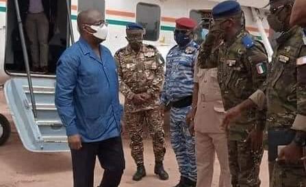Attaque terroriste à Kafolo et Tehini : Téné Birahima Ouattara aux côtés des troupes (Défense, Côte d'Ivoire)