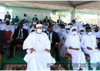 La cérémonie des obsèques du 40ème jour du Premier ministre Hamed Bakayoko a eu lieu le dimanche 18 avril 2021 à la place publique de Séguéla