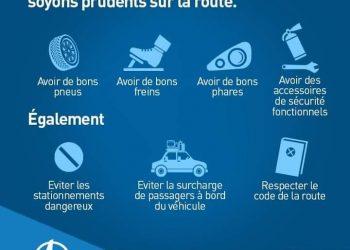 A l'approche des fêtes de Pâques, le ministère ivoirien des transports est au premier plan dans la lutte contre les accidents de la route.