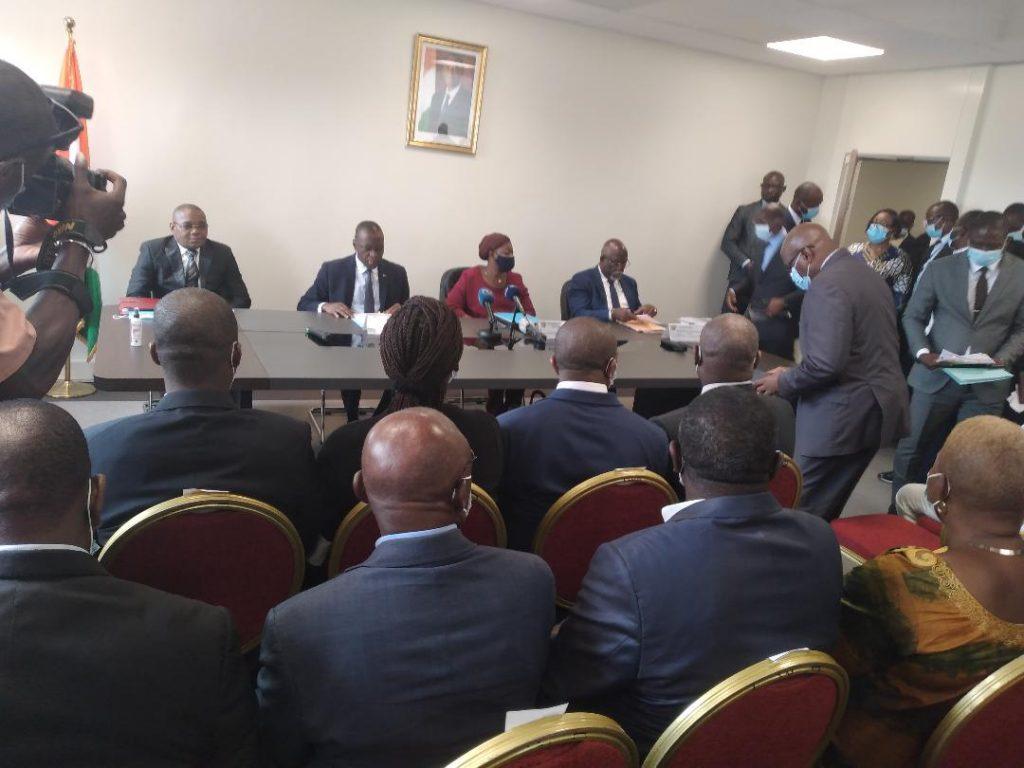 Affaires maritimes : l'héritage  de Legré  Philippe à Amadou Koné et Serey Doh Célestin