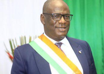 1er jour de Lass PR à l'assemblée nationale : « j'ai une pensée pour le couple Ouattara, Hamed Bakayoko et Amadou Gon »