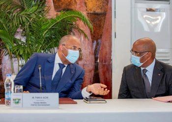 Le Premier Ministre ivoirien, Patrick Achi, a affirmé le 23 avril 2021 à Abidjan, la volonté du gouvernement d'insuffler une dynamique