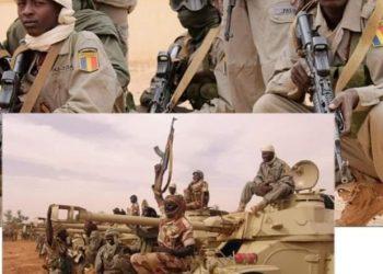 Depuis la mort du président Idriss Deby Itno le 20 avril 2021, les informations d'un repli sur Ndjamena, des 1200 soldats Tchadiens déployés