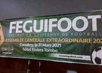 l'Assemblée Générale Élective de la Fédération Guinéenne de Football (FEGUIFOOT) est reportée au 18 mai 2021. Ainsi en a décidé la Commission Électorale dans un communiqué vendredi 30 avril 2021 et dont afrikipresse.fr détient une copie.