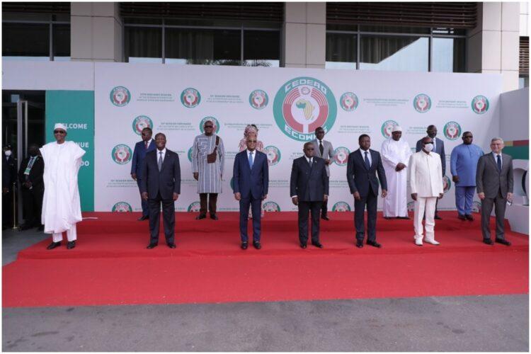 Le 59è Sommet ordinaire de la Conférence des Chefs d'Etat et de Gouvernement de la Communauté Economique des Etats de l'Afrique de l'Ouest (CEDEAO) s'est tenu le samedi 19 juin 2021, à Accra (Ghana). Au menu, la question sécuritaire, la crise sanitaire du Covid-19, les réformes institutionnelles de la CEDEAO. À Accra les chefs d'état africains ont également demandé une attention plus accrue sur la sécurité dans le golfe de guinée en ce qui concerne la piraterie maritime.