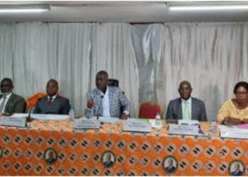 Rencontrant les délégués départementaux RHDP des régions du Bélier, de l'Iffou, du Moronou et du N'Zi, le jeudi 24 juin 2021, à la Rue Lepic, à Cocody, Adama Bictogo, directeur exécutif du RHDP, a indiqué qu'il y'a d'autres défis à relever, après la présidentielle 2020, et les législatives 2021.