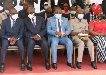 Convaincu de la mobilisation exceptionnelle et de l'accueil chaleureux des populations du Guémon, le ministre Amadou Koné a promis