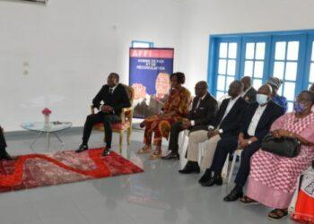 Vendredi 4 Juin 2021, le ministre de la Réconciliation nationale et de la cohésion sociale, Kouadio Konan Bertin dit (KKB), a échangé